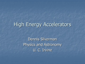 High Energy Accelerators and Detectors