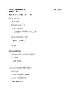 Acapella music dissertation proposal
