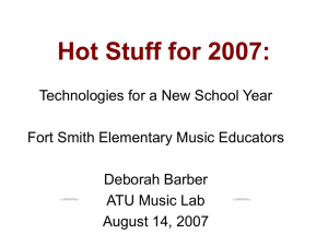 Hot Stuff for 2007: Technology for a New School Year