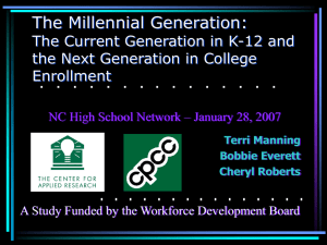 NC High School Network Presentation