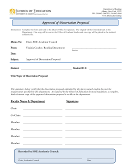 umd nomination of dissertation committee form