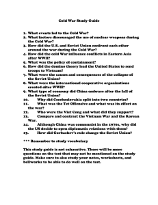 Cold War Study Guide