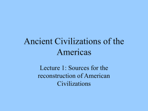 Lecture 1 Introduction to the Sources
