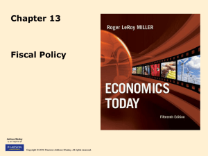 Fiscal Policy 13