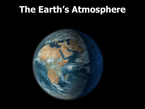 Atmosphere and Ozone Hole