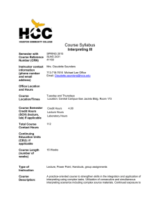 Interpreting III Syllabus Spring 2015.doc
