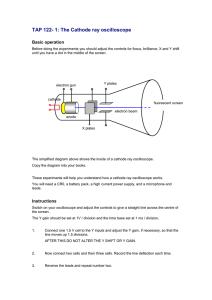 Prelab The Digital Storage Oscilloscope