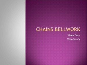 Chains Bellwork 4