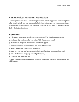 Computer Block PowerPoint Presentations