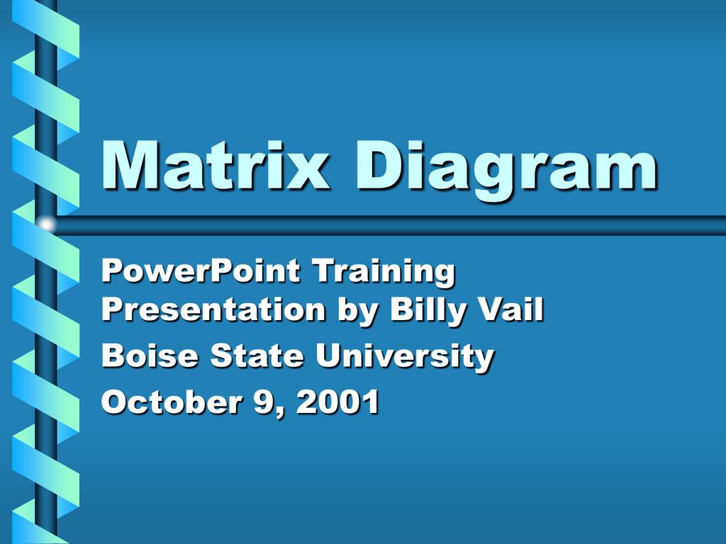 Matrixdiagram1 Schematic Diagramcont