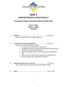 LEAP 1 Leadership Education in Action Program 1