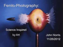 Femto Photography (ppt).