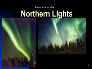 Northern Lights Aurora Borealis . 1