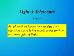 C05: Light Telescopes