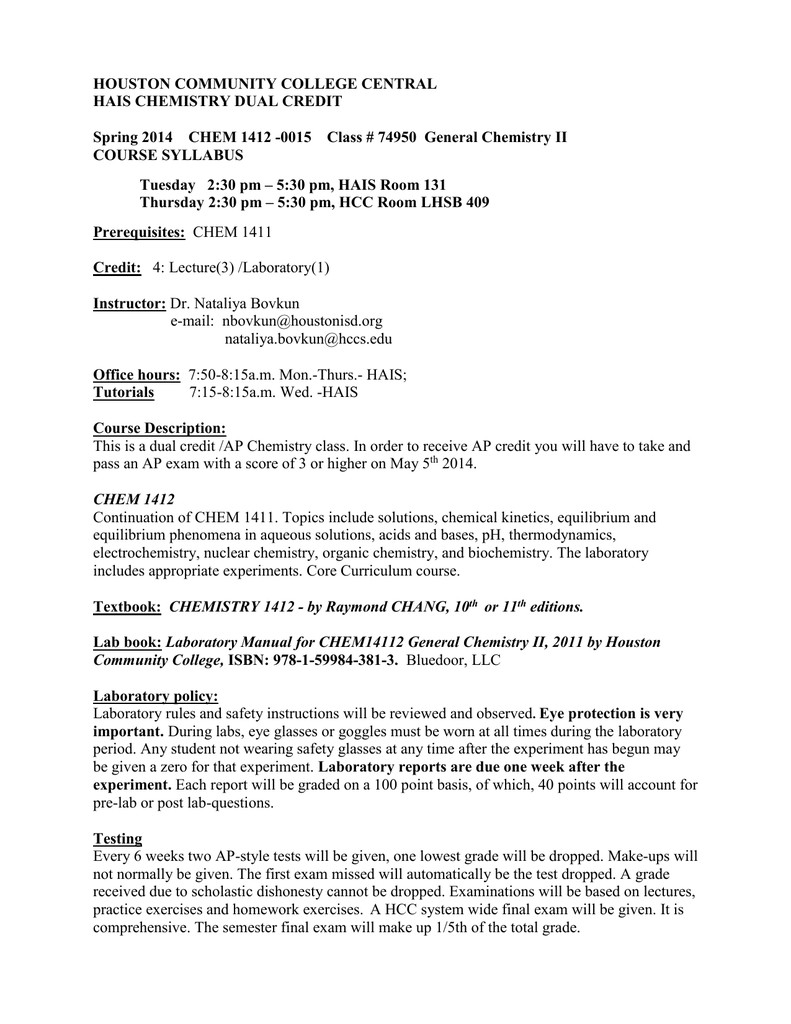 CHEM 1412_Spring 2014 REV_ 74950_ Dual_Credit_Syllabus doc