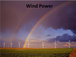 Wind Energy Basics Presentation