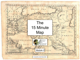 The 15 Minute Map Module 2