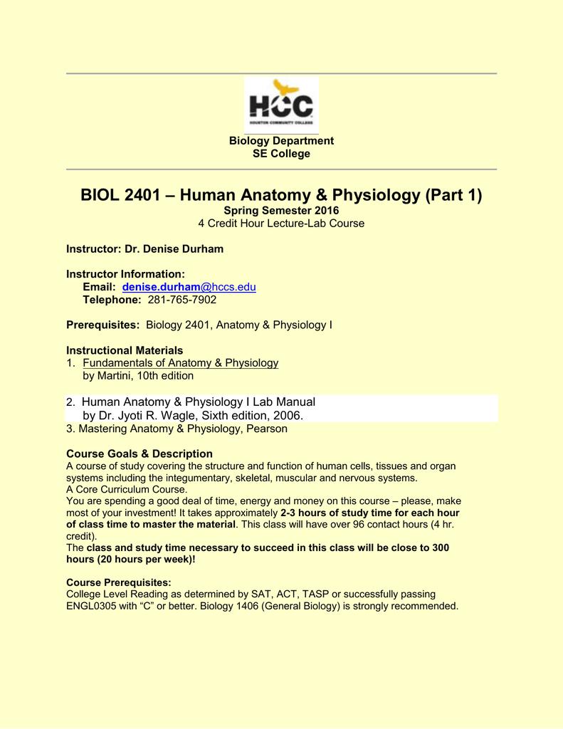 Excelente Hcc Anatomy And Physiology Lab Regalo - Imágenes de ...