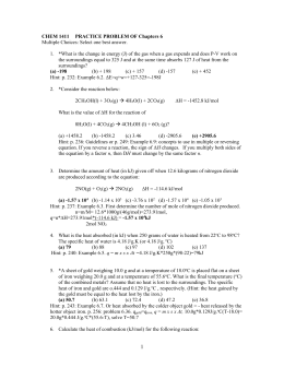 Problem set4 | College paper Example