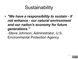 Sustainability2009.ppt