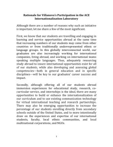 Rationale for Participation in ACE Internationalization Laboratory.doc