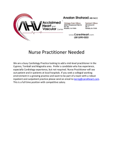 Nurse Practitioner Needed