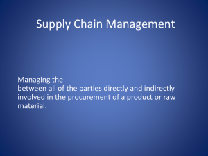RFID IT for Supply Chain Management