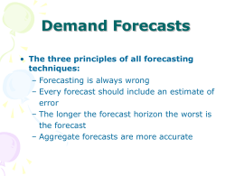 Forecasting Techniques.ppt