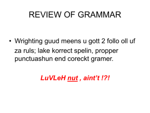1- Review Of Basic Grammar.ppt