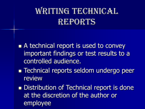 Writing Technical Reports.ppt