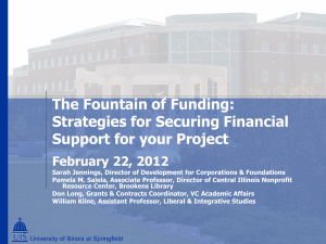 Strategies for Securing Financial Support for Your Project