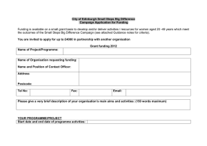 Grant Application Form (MS Word Version)