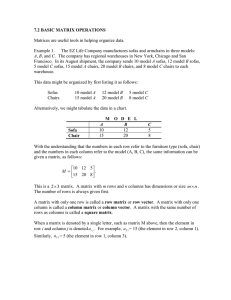 MATH 1314 basic matrix operations and determinants 7.2 7.4.doc