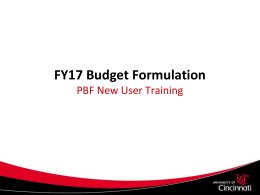 FY17 New User Training FINAL