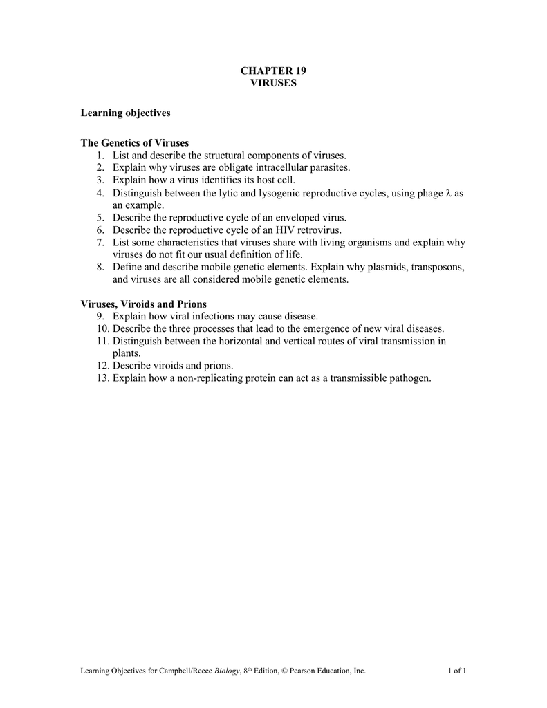 19_Learning_Objectives doc