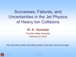 Successes, Failures, and Uncertainties in Jet Physics in Heavy Ion Collisions