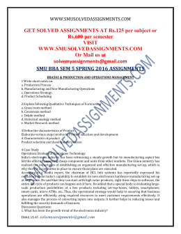 bba 1st sem assignment 2012 We provide bba solved assignments for sikkim manipal university.
