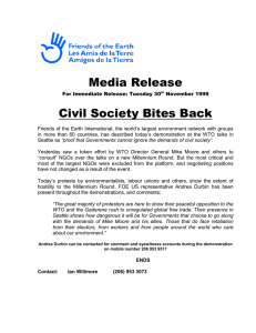 Media Release Civil Society Bites Back