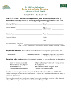 New Patient Referral Form