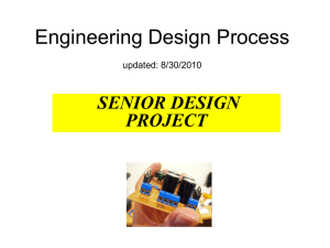 Lecture-1: Engineering Process