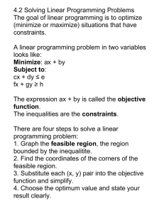 Solving Linear Programming Problems Notes.doc