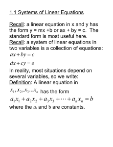 Sec. 1.1 Systems of Linear Equations.doc