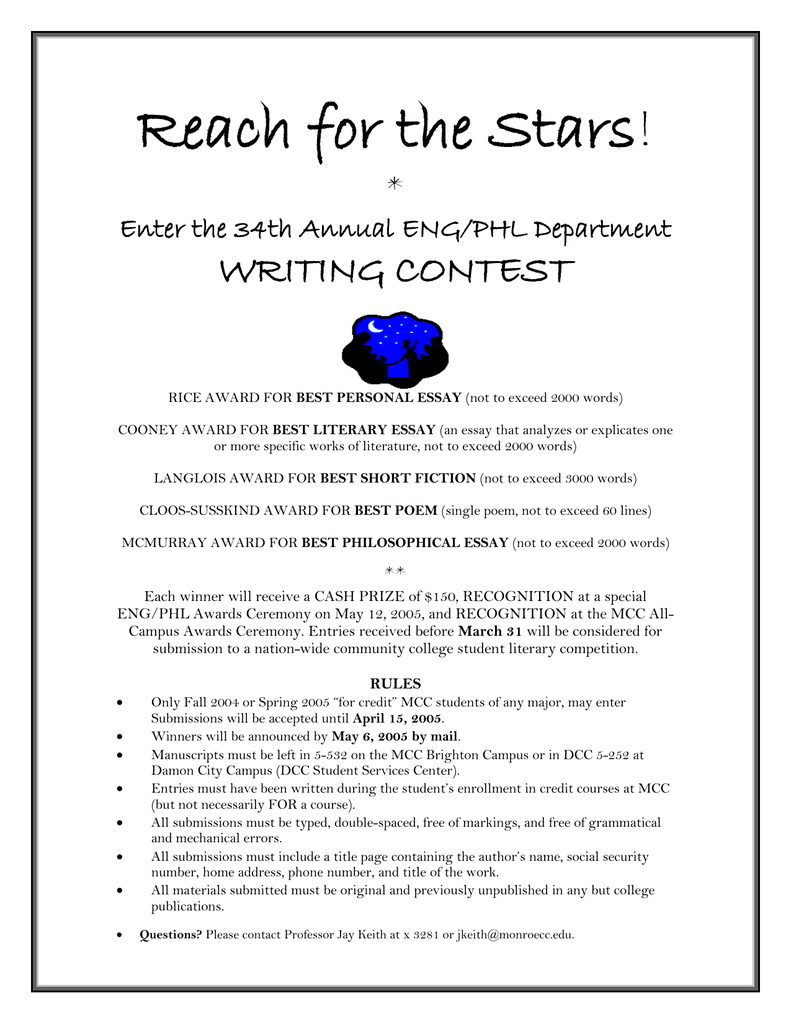 short story contests 2019