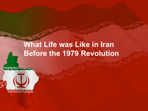 Life in Iran before the 1971 Revolution