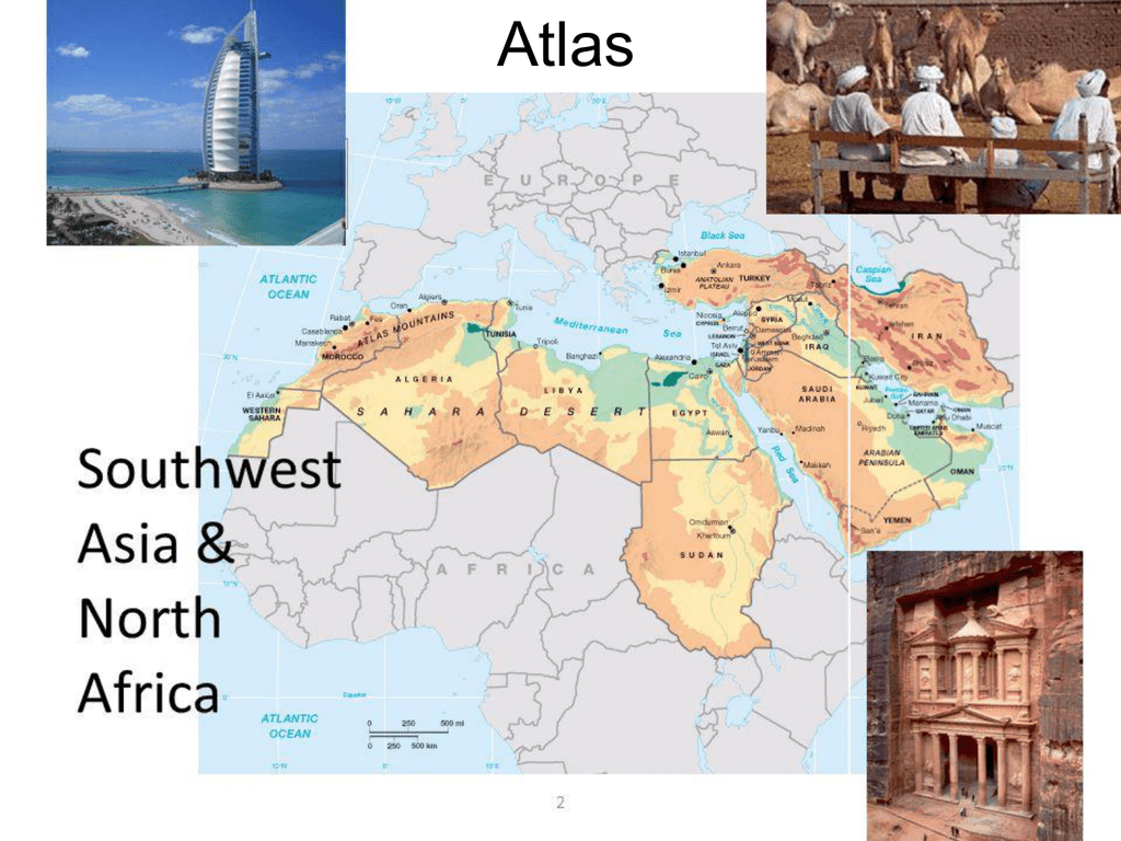North Africa and Southwest Asia