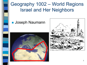 Israel and Her Neighbors