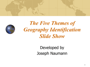 Five Themes of Gg. identification