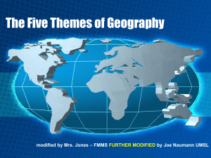 5 Themes of Geography 2 (NEW)