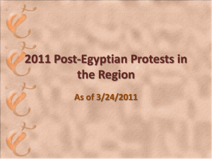 2011 post egyptian protests