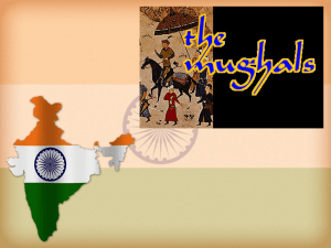 The Mughal Empire Period